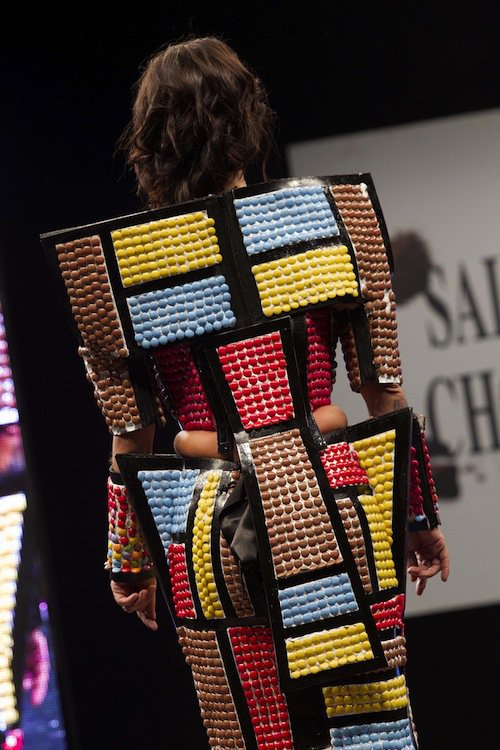 Photos : Alizée à croquer dans sa robe chocolat !