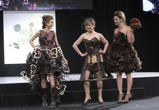 Adeline Blondieau, Véronique Mounier et Louise Ekland