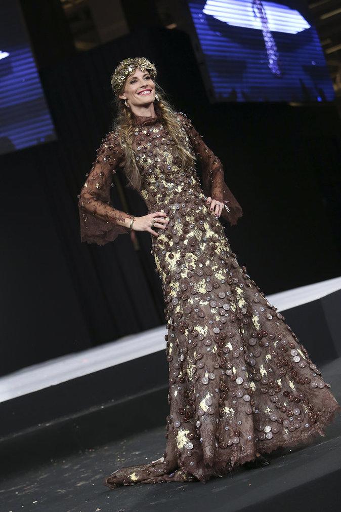 L'ancienne Miss France Sophie Thalmann