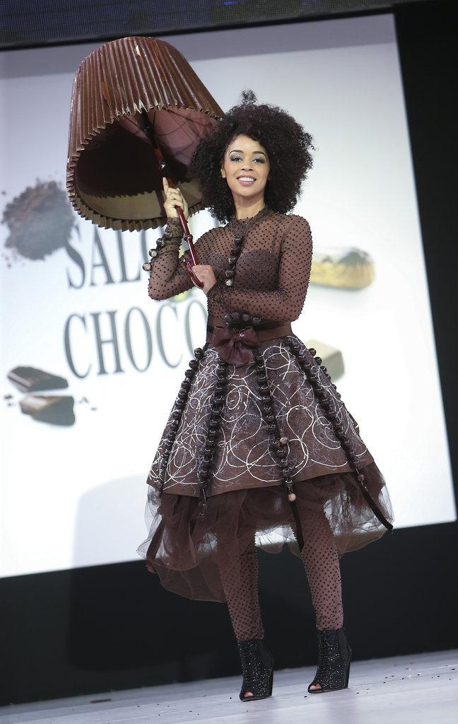 La chanteuse et comédienne Aurélie Konaté