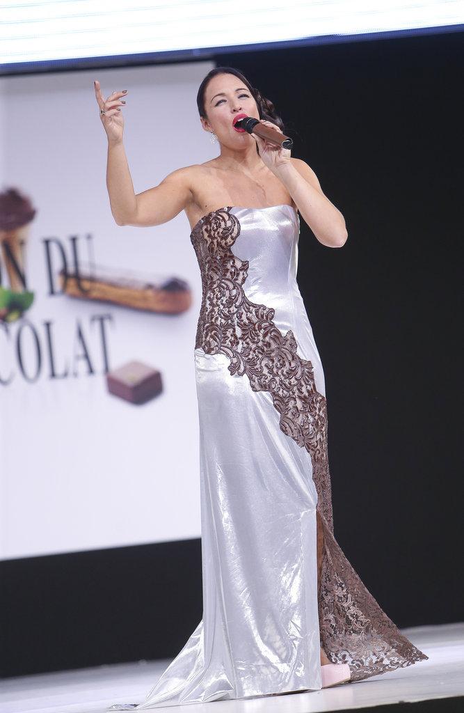 La chanteuse Natasha St. Pier