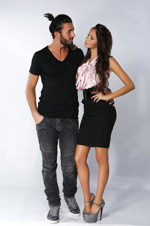 Nabilla et son chéri, Thomas, posent pour la saison 2 d'Allo Nabilla