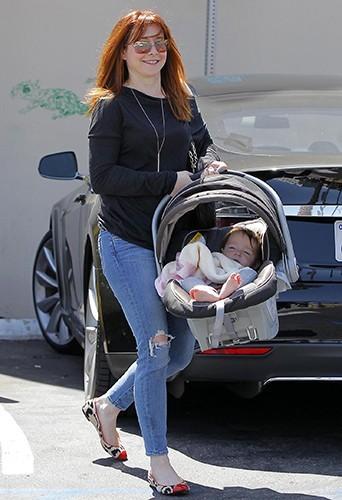 Alyson Hannigan à Los Angeles le 25 avril 2013