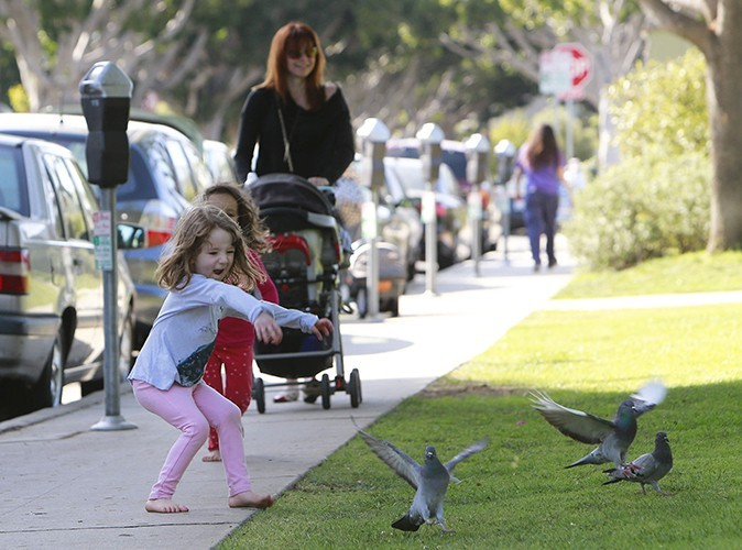 Alyson Hannigan à Santa Monica le 25 avril 2013