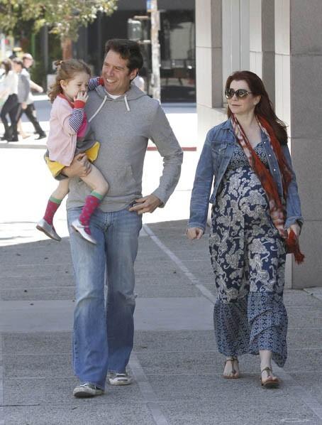 L'actrice d'American Pie le 1er Avril à Santa Monica