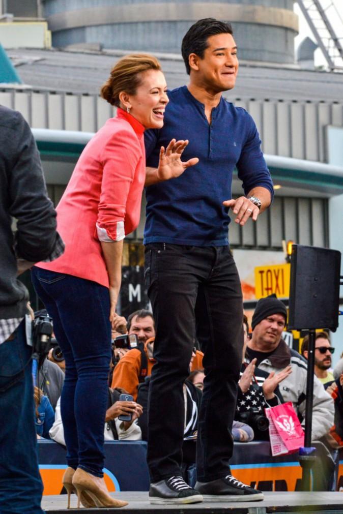Photos : Alyssa Milano : avec Mario Lopez… c'est caliente !