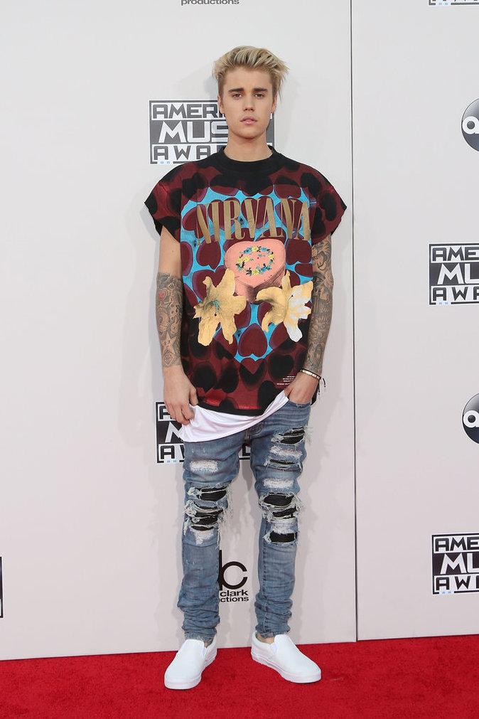 Justin Bieber le 22 novembre 2015