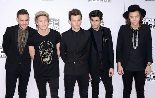 Photos : AMA's: Les One Direction sacrés… Découvrez le palmarès !