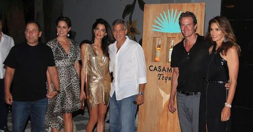 Photos : Amal Clooney : attention, ça brille face à Cindy Crawford !