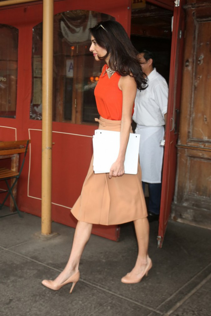 Amal Clooney le 7 avril 2015