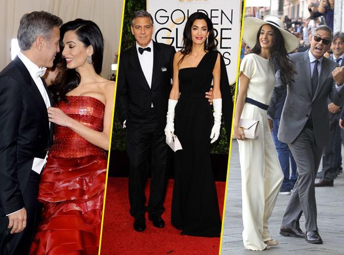 Photos : Amal et George Clooney fêtent un an de mariage chic et complice !