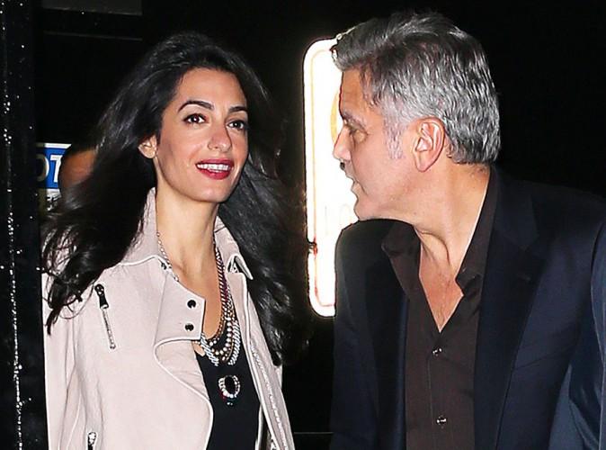 Amal et George Clooney ins�parables au restaurant, Julia Roberts tient la chandelle !