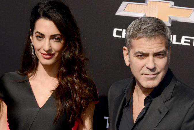 Photos : Amal et George Clooney : plus amoureux que jamais sur le red carpet !