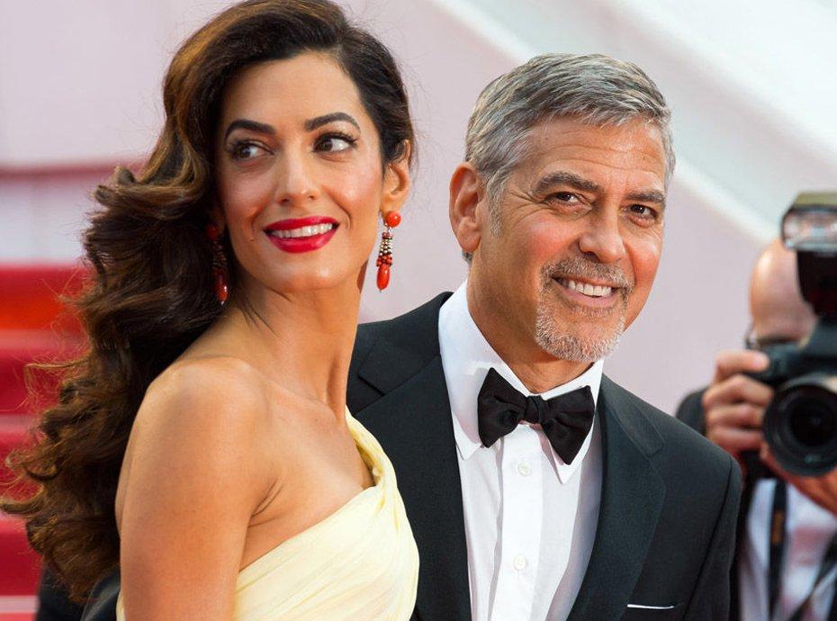 Amal et George Clooney : première sortie des jumeaux !