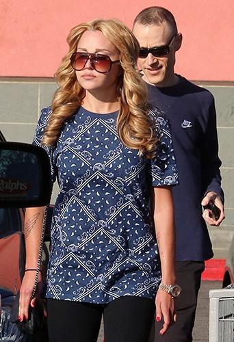 Amanda Bynes à Los Angeles le 29 décembre 2013