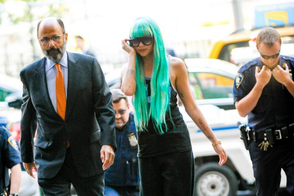 Amanda Bynes le 9 juillet 2013 à New York