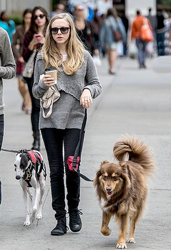 Amanda Seyfried à New-York le 14 septembre 2013
