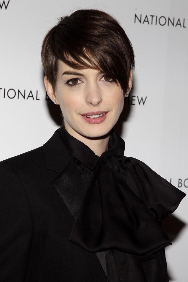 Anne Hathaway 8 janvier 2013 à New York
