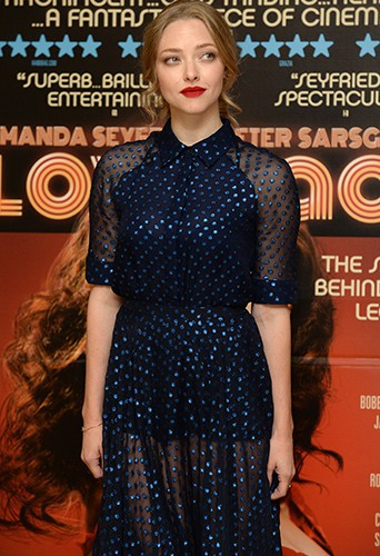 Amanda Seyfried à Londres le 12 août 2013