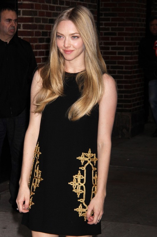 Amanda Seyfried à New York, le 11 décembre 2012.