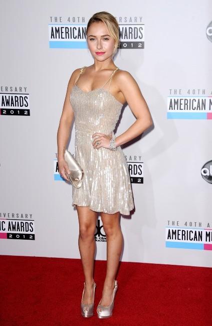 Hayden Panettiere lors des American Music Awards 2012 à Los Angeles, le 18 novembre 2012.