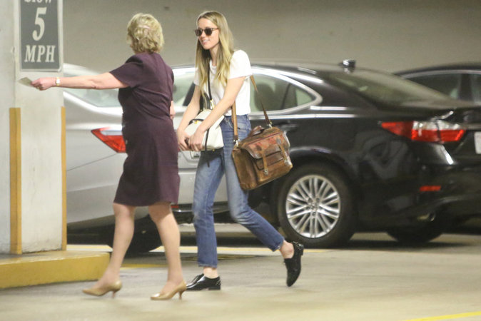 Amber Heard à Los Angeles le 3 juin 2016
