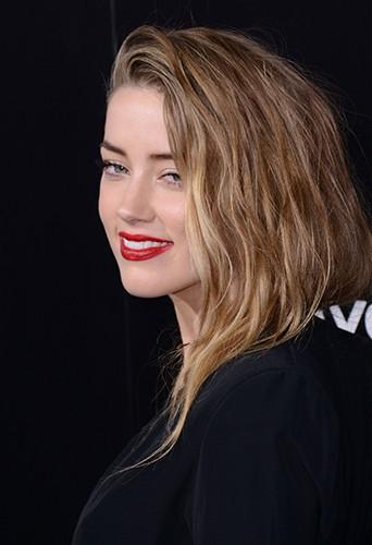 Amber Heard à Los Angeles le 12 février 2014