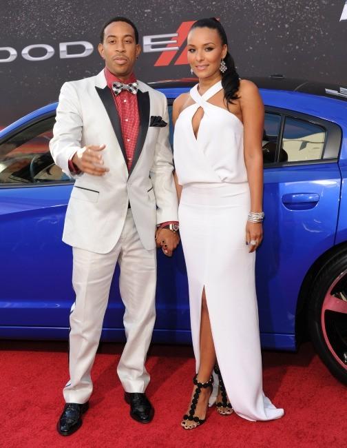 Ludacris et sa chérie Eudoxie à la première de Fast and Furious 6