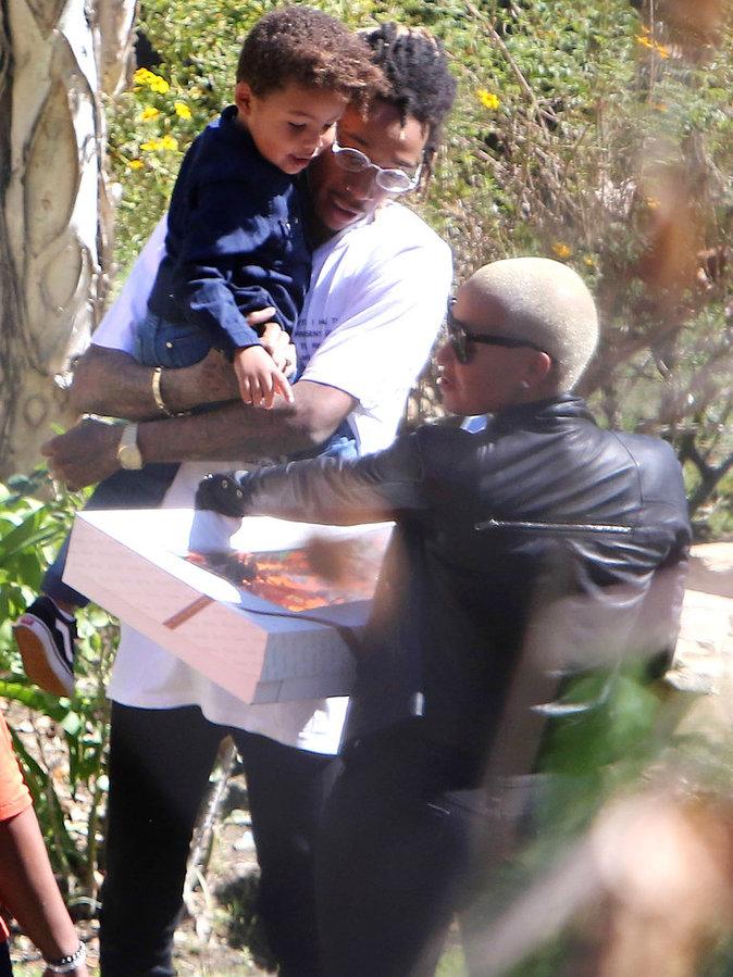 Photos : Amber Rose et Wiz Khalifa : retrouvailles pour les 3 ans de Sebastian !
