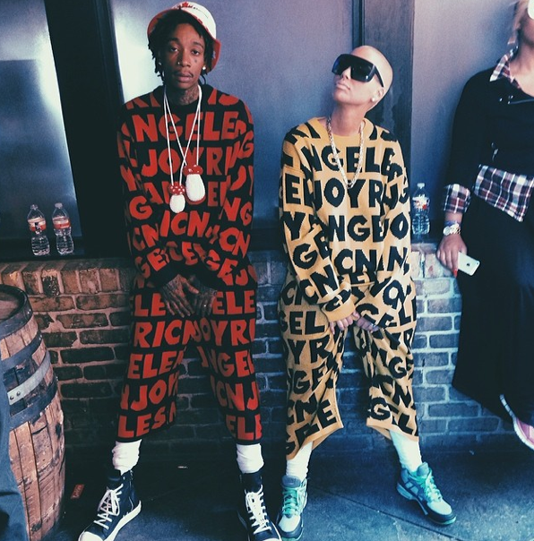 Photos : Amber Rose et Wiz Khalifa : telle épouse, tel mari !