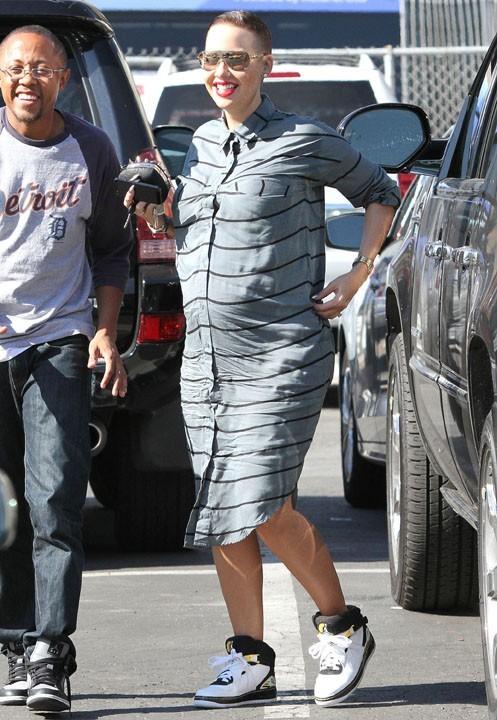 Amber Rose à Los Angeles le 6 novembre 2012