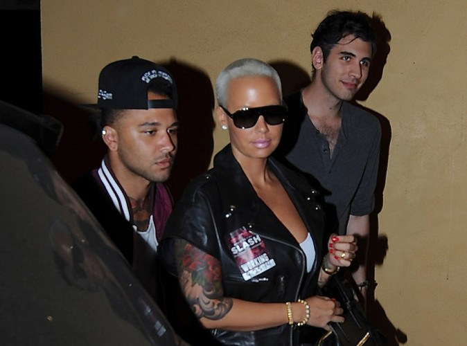 Amber Rose à Los Angeles le 25 septembre 2014
