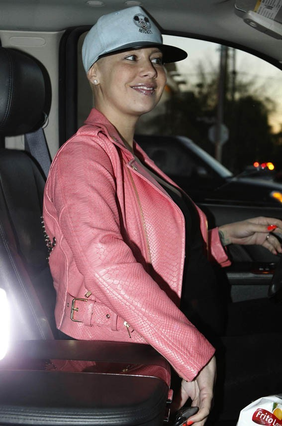 Amber Rose à West Hollywood le 14 janvier 2013