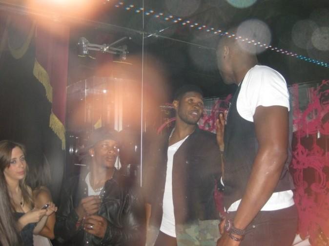 Usher et Dwyane Wade au VIP Room Theater, le 24 juin 2011.