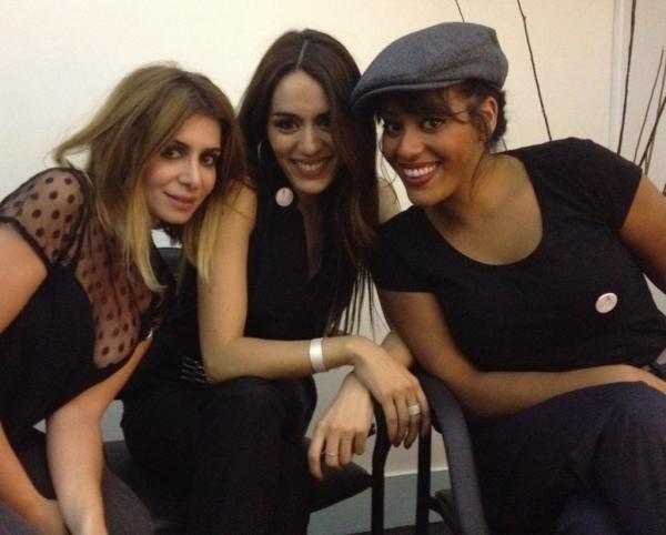 Amel, Sofia et Julie