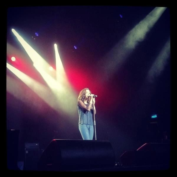 Jenifer sur scène