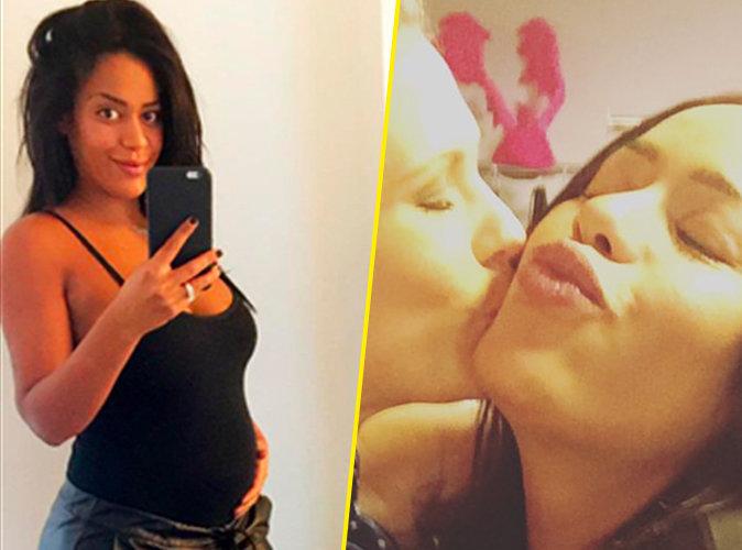 Photos: Amel Bent : même enceinte elle va soutenir les enfoirés