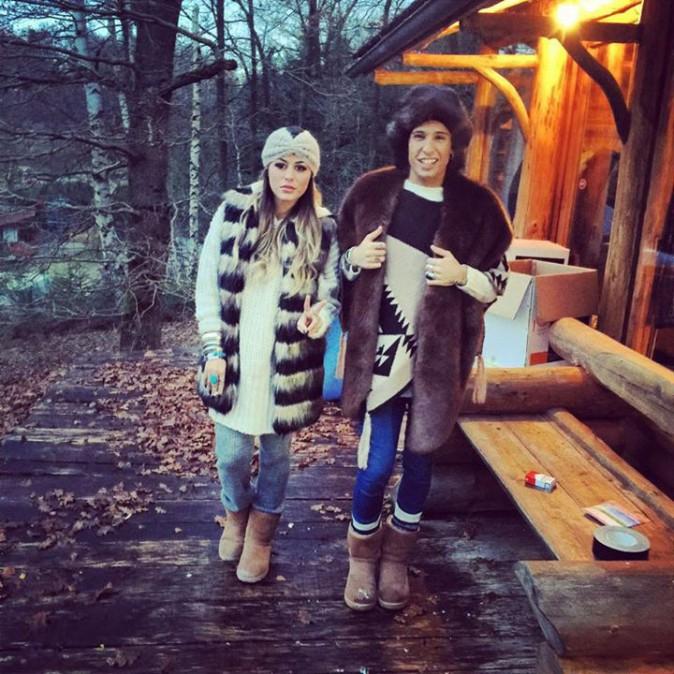 Photos : Amélie Neten, Anaïs Camizuli et Eddy : retrouvailles des BFF, les Anges tous complices au chalet !