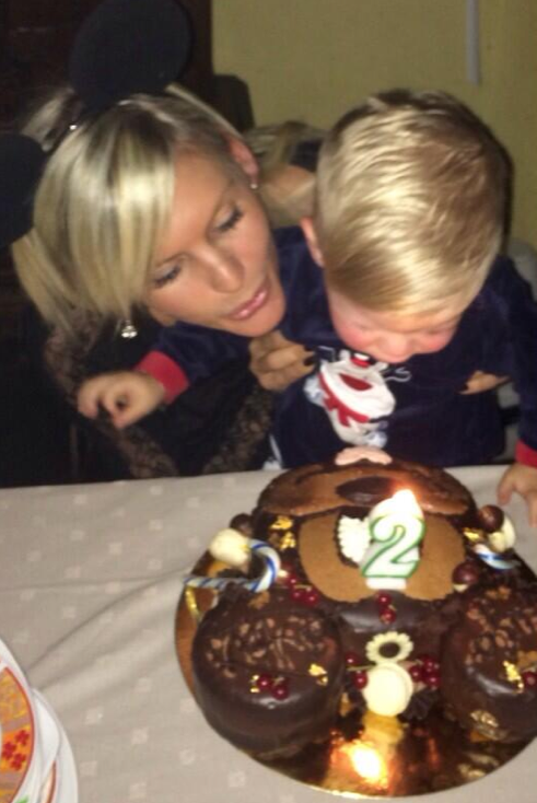 Amélie et son fils Hugo !