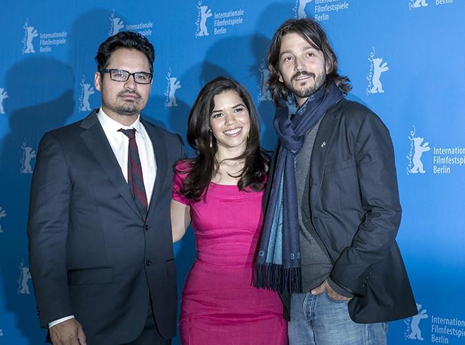 Michael Pena, America Ferrera et Diego Luna à Berlin le 12 février 2014