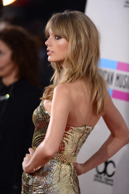 Taylor Swift lors des American Music Awards, le 24 novembre 2013.