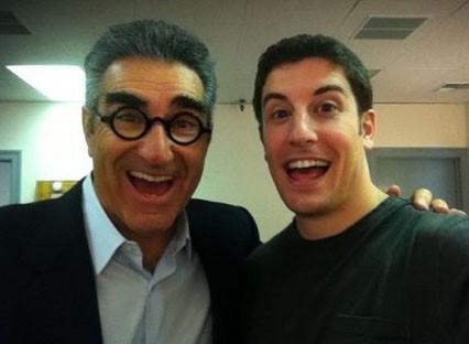 Jim et son papa !