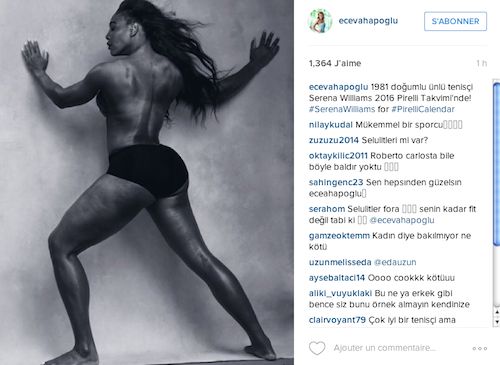 Photos : Amy Schumer et Serena Williams au naturel pour le calendrier Pirelli 2016