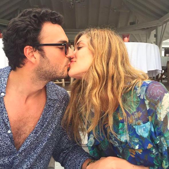 Ana Beatriz Barros et son mari Karim El Chiaty