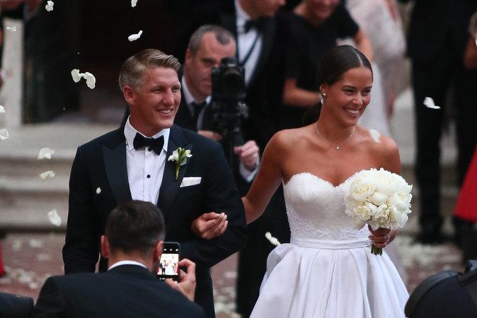 Ana Ivanovic et Bastian Schweinsteiger : un mariage de conte de fée !
