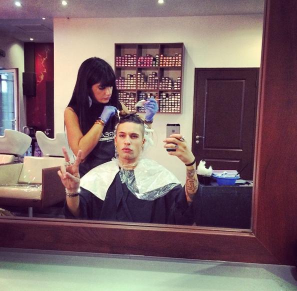 Photos : Anaïs Camizuli et Eddy : lèvres gonflées à bloc et nouvelle coupe de cheveux !
