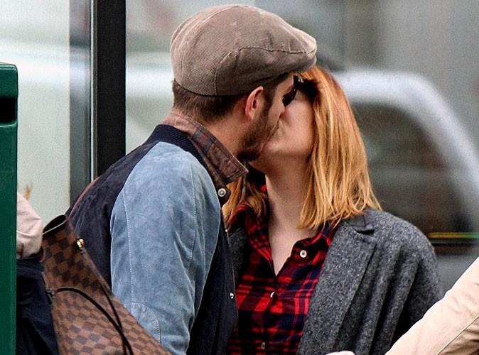 Andrew Garfield et Emma Stone : ça se bécote dans les rues de New-York !