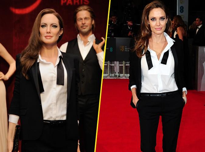Angelina Jolie : ça y est, sa statue de cire trône au côté de celle de Brad au musée Grévin !