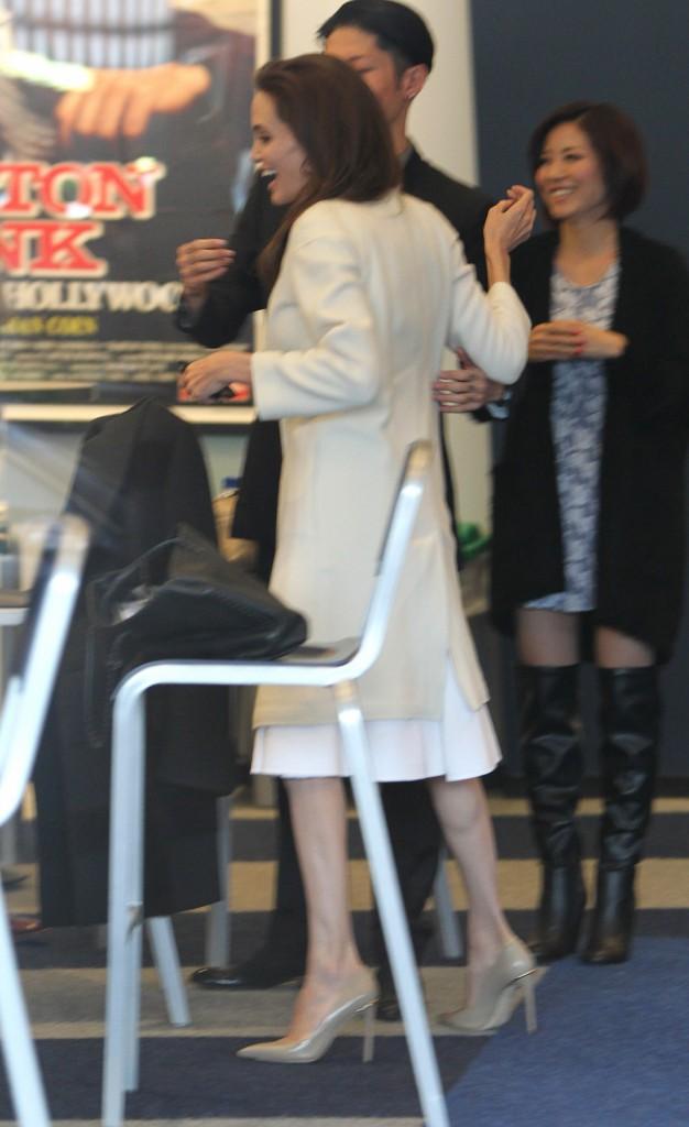 Angelina Jolie à Los Angeles le 30 novembre 2014