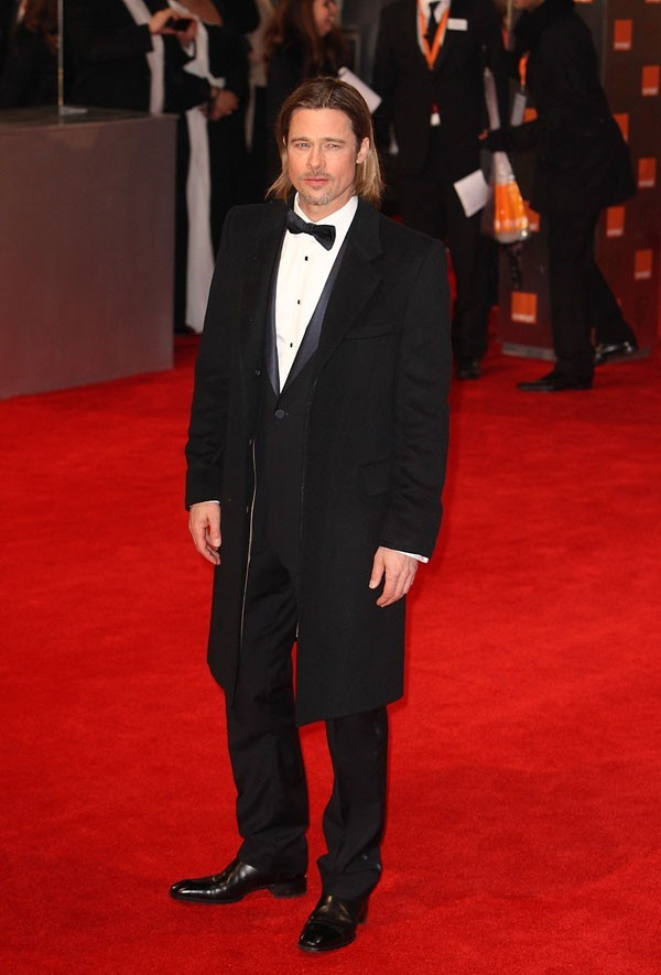 Brad Pitt seul pour les BAFTA
